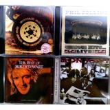 4 Cds   Bon Jovi   Bryan Adams   Phill Collins   Rod Stewart