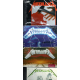 4 Cds Metallica   Kill  em All   Ride The Lightning