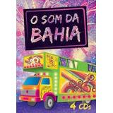 4 Cds O Som Da Bahia