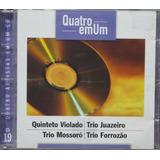 4 Em 1 Cd Quinteto Violado Trio Juazeiro Trio Mossoró Forróz