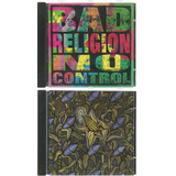5 Cds Bad Religion   Against  No Control  Tested  Punk  Grey