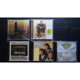 5 Cds Rod Stewart  A ha  Green Day  Phil Collins  Robbie Wil