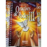5 Livros Orações De Poder 3 Com Cd Brinde