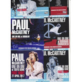 6xcds  Paul Mccartney one On One  2017  japoneses Originais