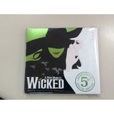 A New Musical Wicked Musical  stephen Schwartz  Versão Dupla