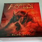 Accept Blind Rage Cd boxset