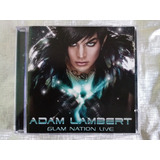 Adam Lambert : Glam Nation Live ~ Cd   Dvd Ex