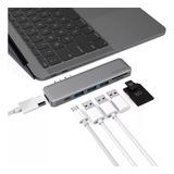 Adaptador Hub Macbook Pro  Air Usb C Hdmi 4k Thunderbolt 3