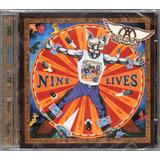Aerosmith Cd Nine Lives Novo Lacrado Original Frete Gratis
