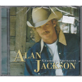 Alan Jackson   Cd Grandes Sucessos   Lacrado