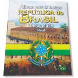 Album Para Moedas Real 1994 A 2025 E Comemorativas, Incrivel