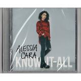 Alessia Cara   Know it all Cd Original Lacrado Deluxe Aa