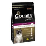 Alimento Golden Premium Especial Castrados Para Gato Adulto Sabor Frango Em Saco De 3kg