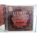 Allman Brothers Band Cd Duplo Live Macon 1972 Raríssimo