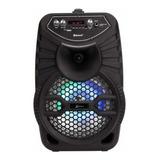 Alto-falante Lenoxx Ca100 Portátil Com Bluetooth Preto 110v/220v