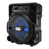 Alto-falante Lenoxx Ca80 Portátil Com Bluetooth Preto 110v/220v