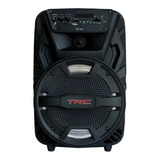 Alto-falante Trc Sound Trc 5515 Portátil Com Bluetooth Preto 110v/220v