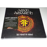 Amon Amarth   The Pursuit Of Vikings 2dvds cd  paper Sleeve