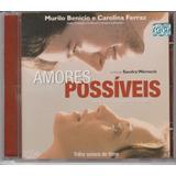 Amores Impossíveis   Cd Trilha Sonora Do Filme   2001