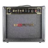 Amplificador Borne Vorax 1050 Combo 50w Preto E Dourado 110v/220v