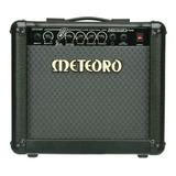 Amplificador Meteoro Nitrous Drive 15 Transistor 15w Preto 110v/220v