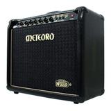 Amplificador Meteoro Nitrous Gs100 100w Transistor Preto 110v/220v