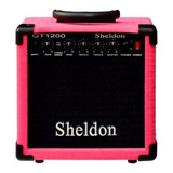 Amplificador Sheldon Gt1200 15w Rosa