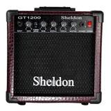 Amplificador Sheldon Gt1200 Combo 15w Bordô
