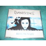 Amy Lee Evanescence Bring Me To Life Cd Single Lacrado Uk