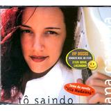 Ana Carolina Cd Single Tô Saindo   Novo Lacrado Raro