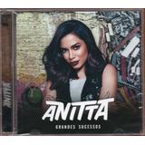 Anitta Cd Grandes Sucessos Novo Lacrado