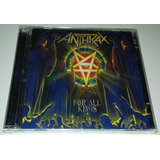 Anthrax   For All Kings  cd Duplo  Lacrado