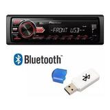 Aparelho De Som Pioneer Mvh 098ub Com Receptor Bluetooth