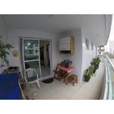 Apartamento Semi Mobiliado Próximo Da Praia Com 2 Dormitórios E 2 Vagas À Venda, 89 M² Por R$ 365.000 - Vila Guilhermina - Praia Grande/sp - Ap3748