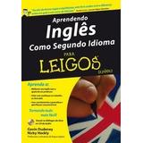 Aprendendo Inglês Como Segundo Idioma Para Leigos   Com Cd