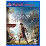 Assassins Creed Odyssey Edição Limitada Ps4 Mídia Física Cd