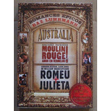 Austrália Romeu Julieta Moulin Rouge Box Romances 3 Dvd 1 Cd