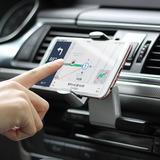 Automático Carro Cd Slot Móvel Telefone Titular 360 Grau Mon
