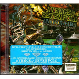 Avenged Sevenfold Live In The Lbc Dvd Cd Novo Lacrado Raro