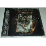 Axel Rudi Pell   Game Of Sins  cd Lacrado