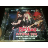 Axel Rudi Pell Cd   Dvd Rock Hard Festival 2018