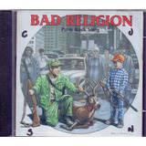Bad Religion 1996 Punk Rock Song Cd Importado Japão