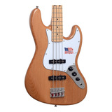 Baixo 4 Cordas Jazz Bass Sx Alder Series Natural Regulado
