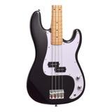 Baixo 4 Cordas Precision Bass Sx Spb57+ Preto Regulado!!