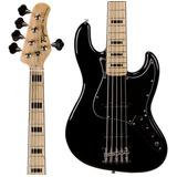 Baixo Tagima Tjb5 Classic Series Jazz Bass 5 Cordas Preto