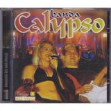 Banda Calypso   Cd Ao Vivo Em São Paulo   Lacrado De Fábrica