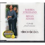 Barbra Streisand E Bryan Adams Cd Single 4 Faixas   Lacrado