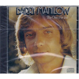 Barry Manilow   This One s For You   Cd Raro