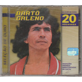 Bartô Galeno   Cd Seleção De Ouro 20 Sucessos   Lacrado