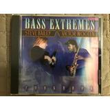 Bass Extremes Cookbook Victor Wooten Steve Bailey Cd Novo